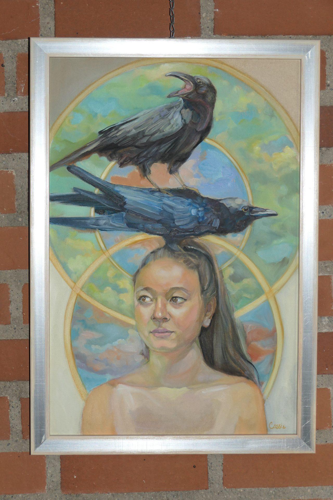 Alyssa von Cassie Tumlinson, Öl auf Leinwand